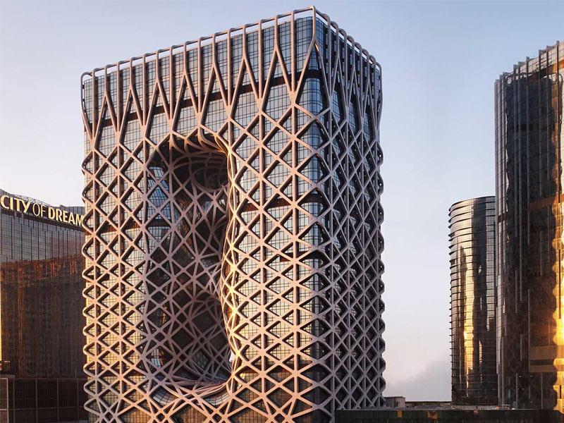 طراحی هتل مورفئوس