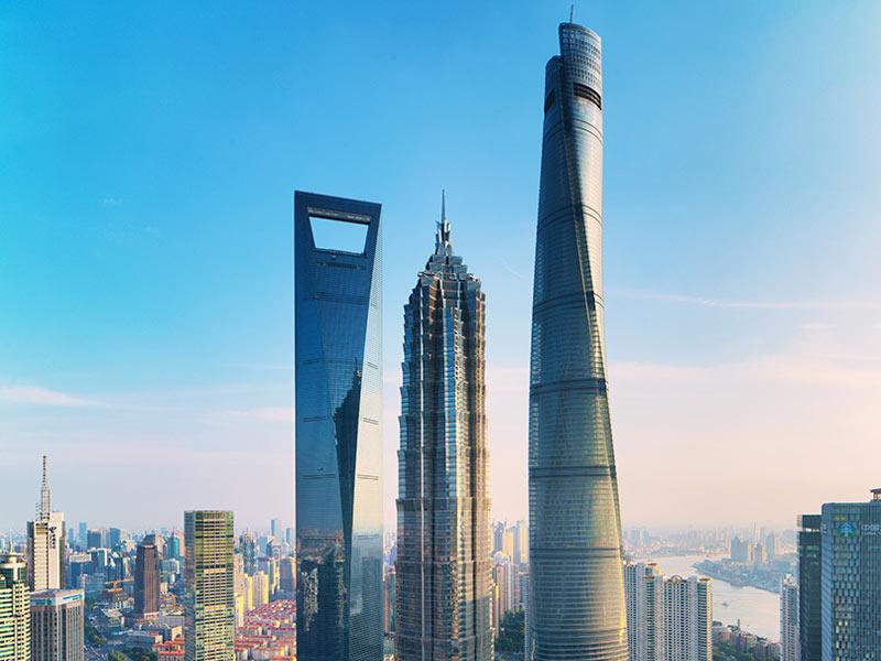 طراحی برج شانگهای دومین آسمان خراش دنیا   معماری سرور استودیو