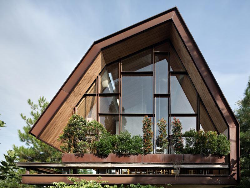 طراحی معماری ویلا